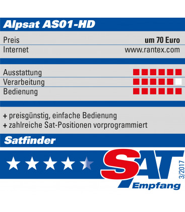 Satfinder HD  AS-01HD DVB-S/S2