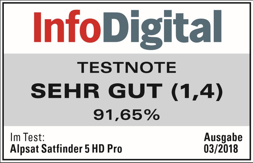 ALPSAT SATFINDER 5 HD PRO